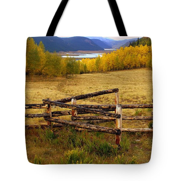 Fall In The Rockies 2 Tote Bag by Marty Koch