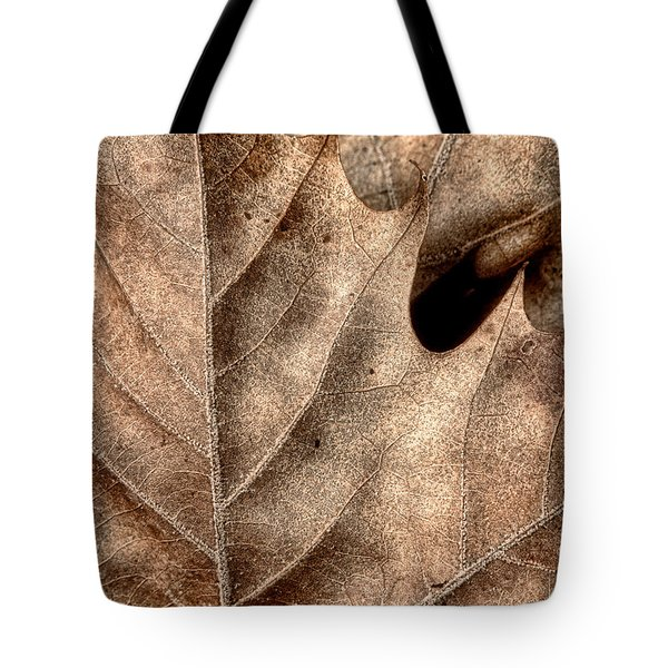 Fallen Leaves II Tote Bag by Tom Mc Nemar