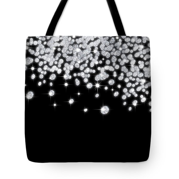 falling diamonds Tote Bag by Setsiri Silapasuwanchai