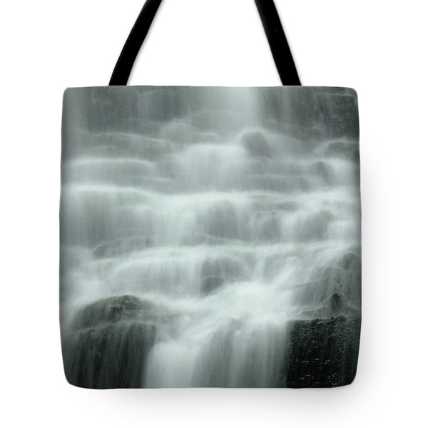 Falling Tote Bag by Don Schwartz