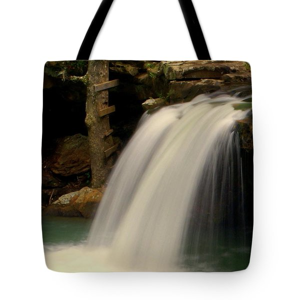 Falling Falls Tote Bag by Marty Koch