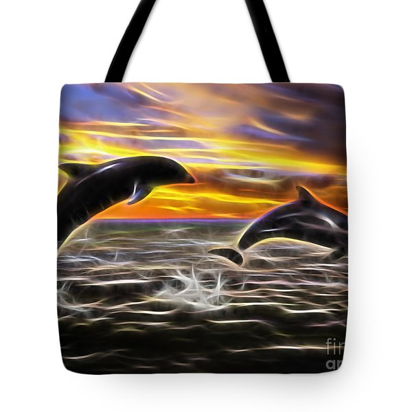 Falling In Love Tote Bag by Marvin Blaine