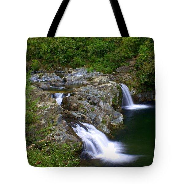 Falls Falls Tote Bag by Marty Koch