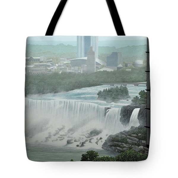 Falls View Tote Bag by Kenneth M  Kirsch