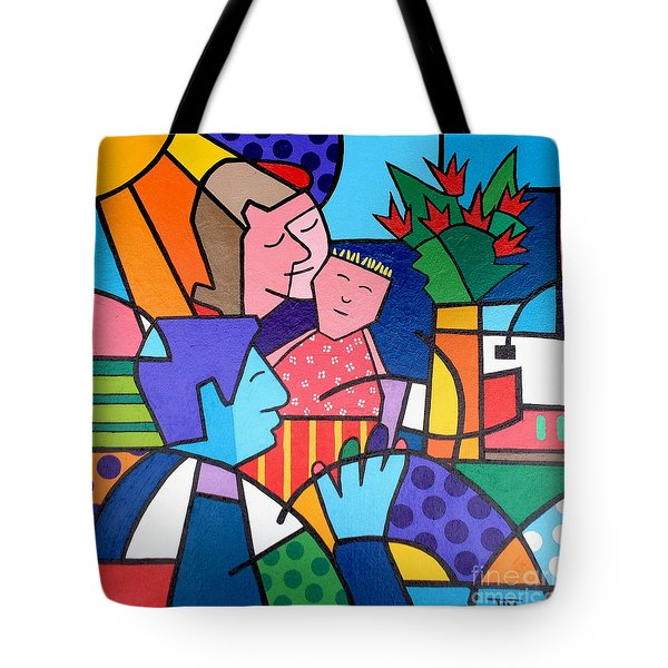 Families Are Forever Tote Bag by Tim Ross