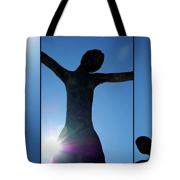 Family of Man Tote Bag by Lisa Knechtel