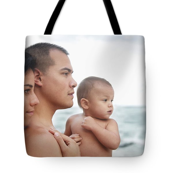 Family of the Ocean Tote Bag by Brandon Tabiolo - Printscapes