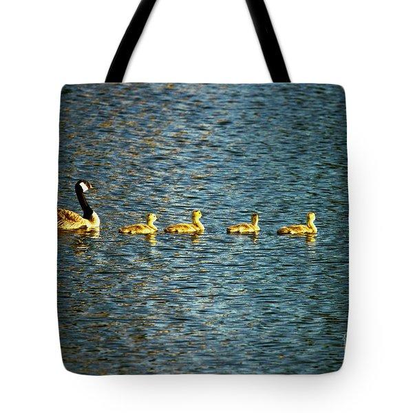 Family Tote Bag by Scott Pellegrin
