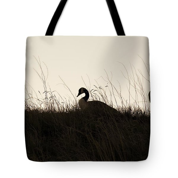 Family Time Tote Bag by Marilyn Hunt