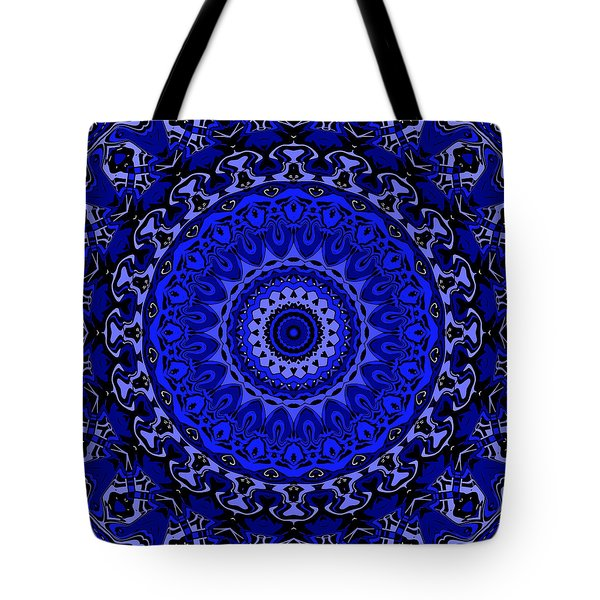 Fancy Cartoon Blues Tote Bag by Joy McKenzie