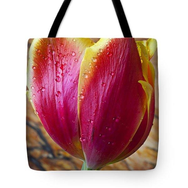 Fancy Tulip Tote Bag by Garry Gay