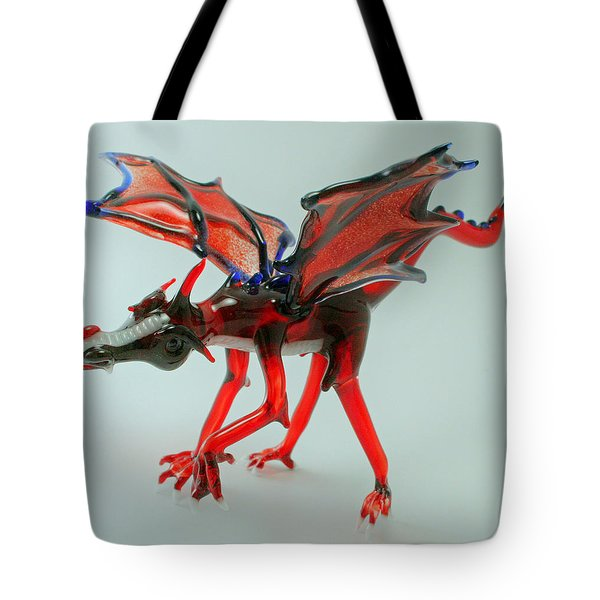 Fang Tote Bag by Rosanne Wellmaker
