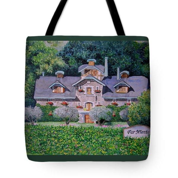 Far Niente Winery Tote Bag by Gail Chandler