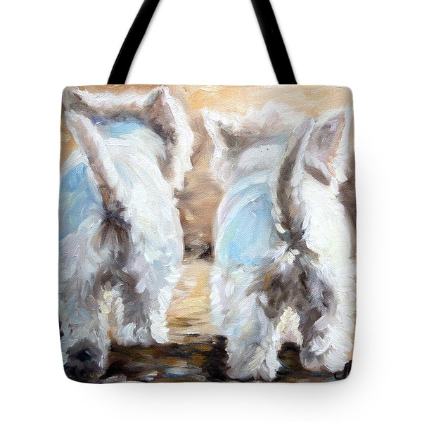 Farewell Tote Bag by Mary Sparrow