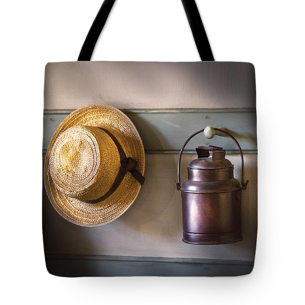 Farm - Tool - The coat rack Tote Bag by Mike Savad