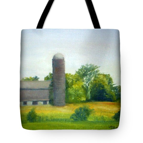Farm In The Pine Barrens  Tote Bag by Sheila Mashaw
