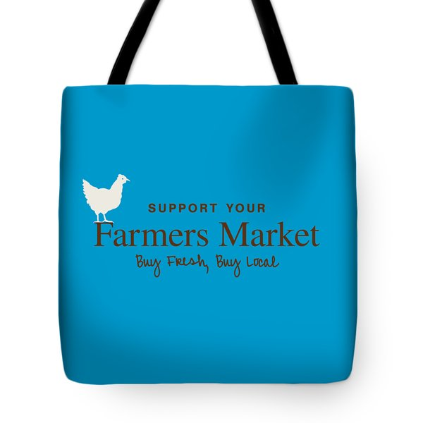 Farmers Market Tote Bag by Nancy Ingersoll