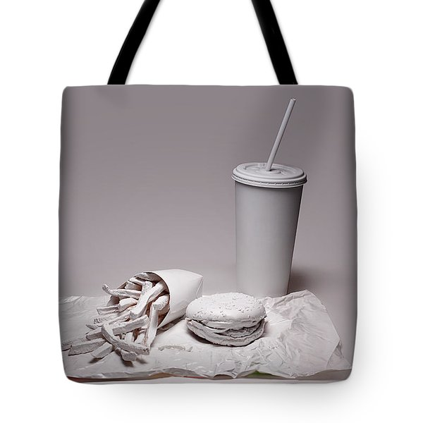 Fast Food Drive Through Tote Bag by Tom Mc Nemar