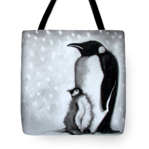 Father And Son Tote Bag by Paul Powis
