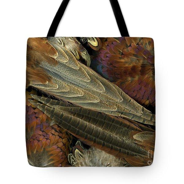 Featherdance Tote Bag by Christian Slanec