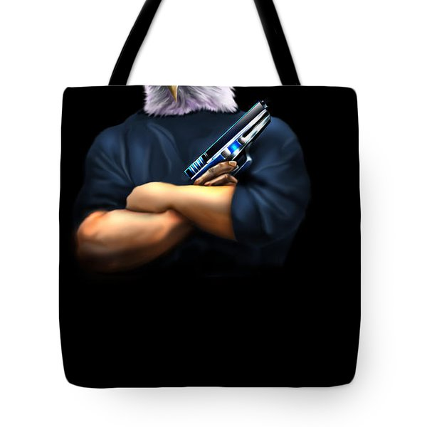 Fed Up 2 Tote Bag by Reggie Duffie