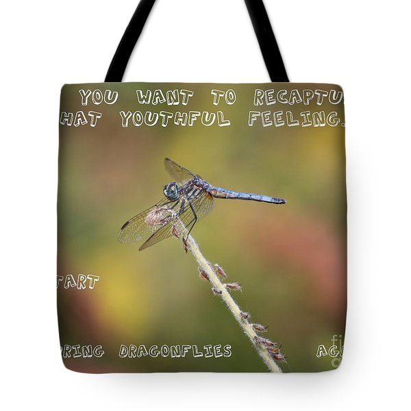 Feel Young Again Tote Bag by Carol Groenen