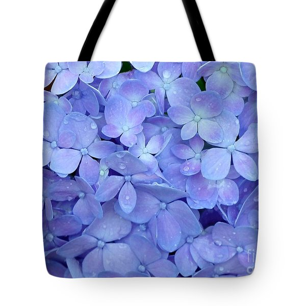 Feeling Blue Tote Bag by Sabrina L Ryan