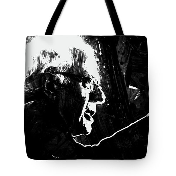 Feeling The Bern Tote Bag by Brian Reaves