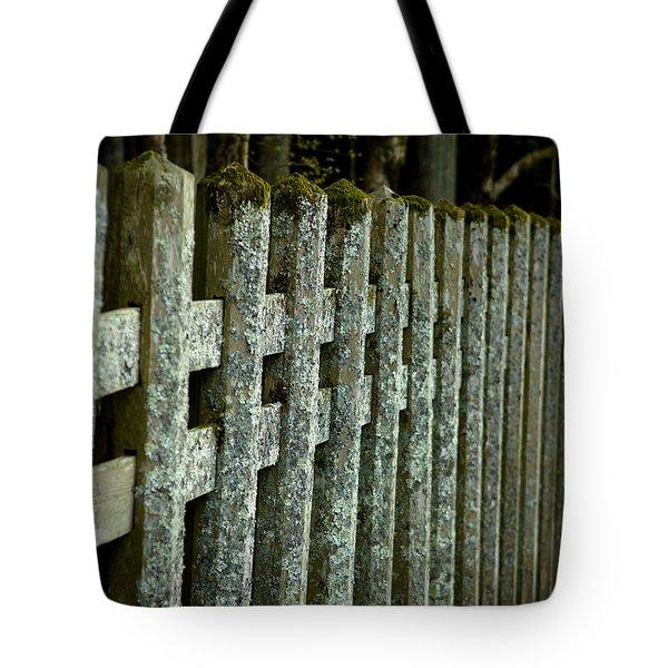 Fenced In Tote Bag by Sebastian Musial