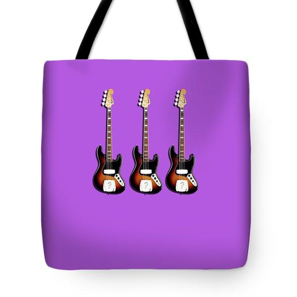 Fender Jazzbass 74 Tote Bag by Mark Rogan