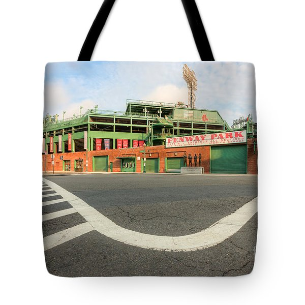 Fenway Park III Tote Bag by Clarence Holmes