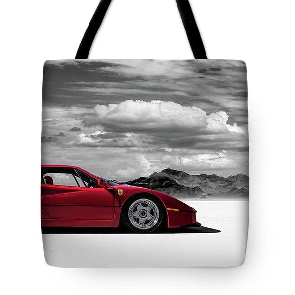 Ferrari F40 Tote Bag by Douglas Pittman