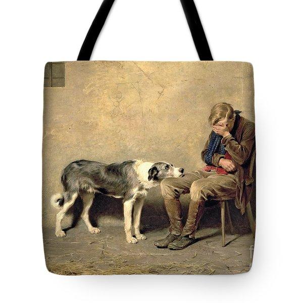 Fidelity Tote Bag by Briton Riviere