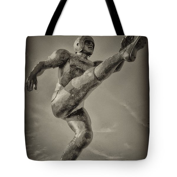 Field Goal Tote Bag by Bill Cannon