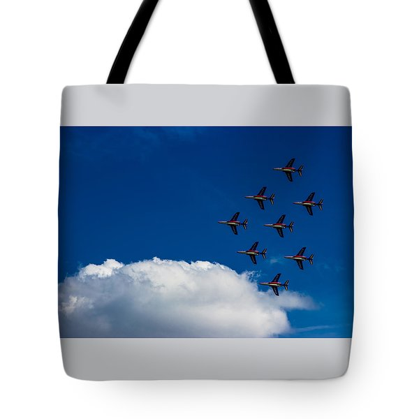 Fighter Jet Tote Bag by Martin Newman