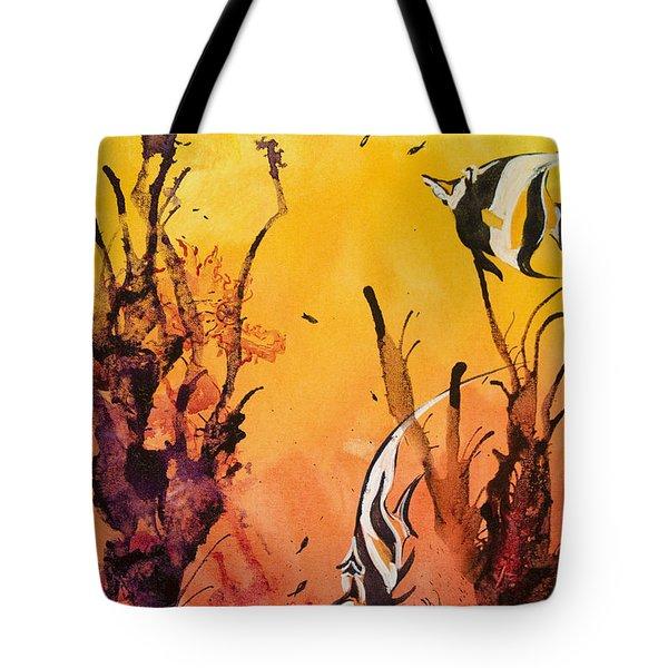 Fijian Friends Tote Bag by Tanya L Haynes - Printscapes