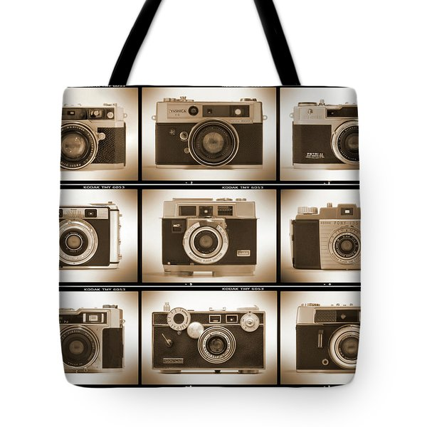 Film Camera Proofs 2 Tote Bag by Mike McGlothlen