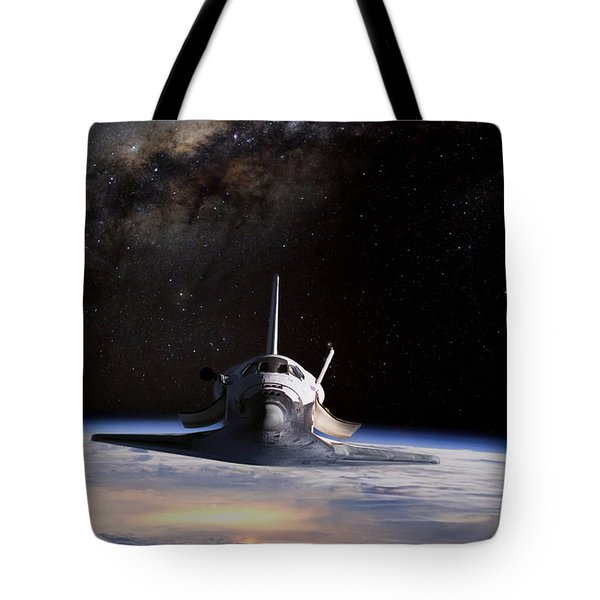 Final Frontier Tote Bag by Peter Chilelli