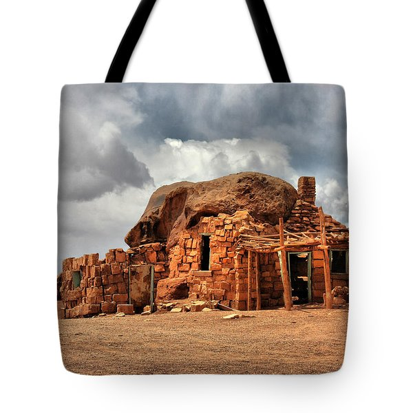 Finally We Found A New Home Tote Bag by Christine Till