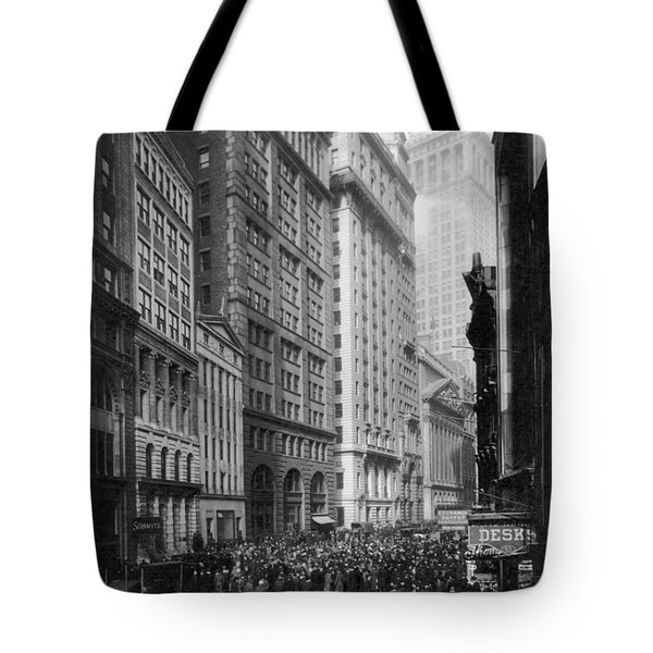 Financial Center, C1920 Tote Bag by Granger