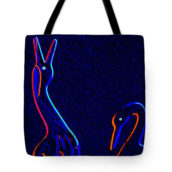 Fine Feathered Friends Tote Bag by Will Borden