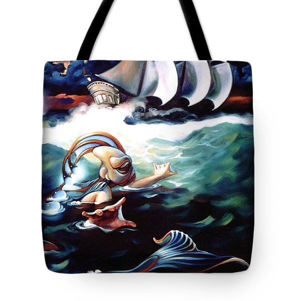 Finnegan's Quest Tote Bag by Patrick Anthony Pierson