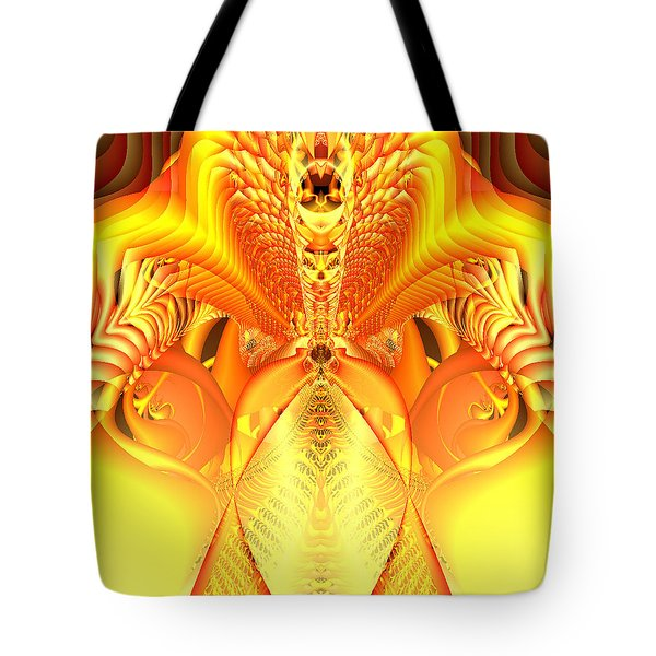 Fire Goddess Tote Bag by Gina Lee Manley