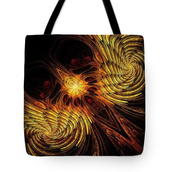 Firebird Tote Bag by John Edwards