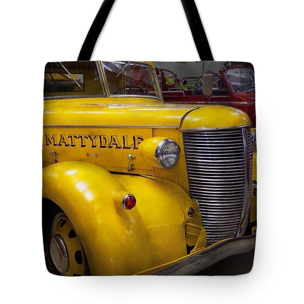 Fireman - Mattydale  Tote Bag by Mike Savad