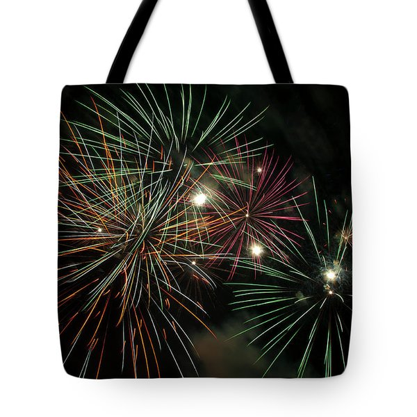 Fireworks Tote Bag by Glenn Gordon