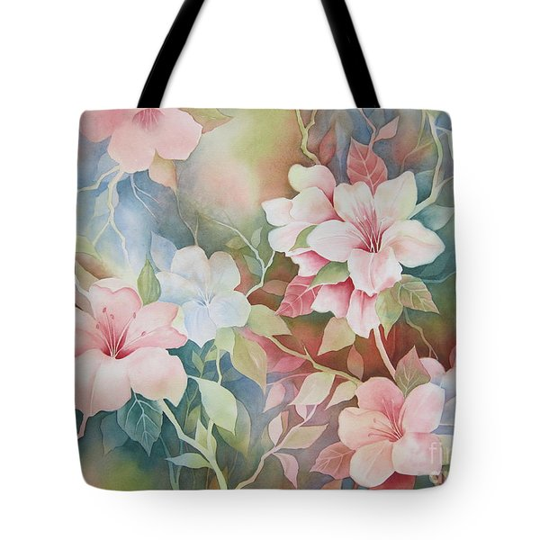 First Blush Tote Bag by Deborah Ronglien
