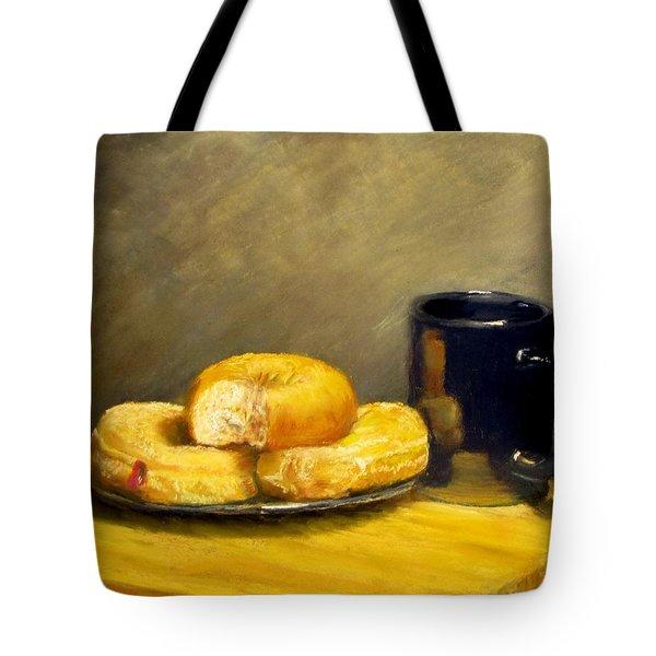 First Call...Breakfast Tote Bag by Jack Skinner