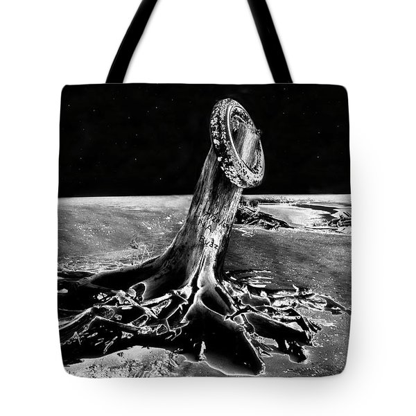 First Men On The Moon Tote Bag by David Lee Thompson