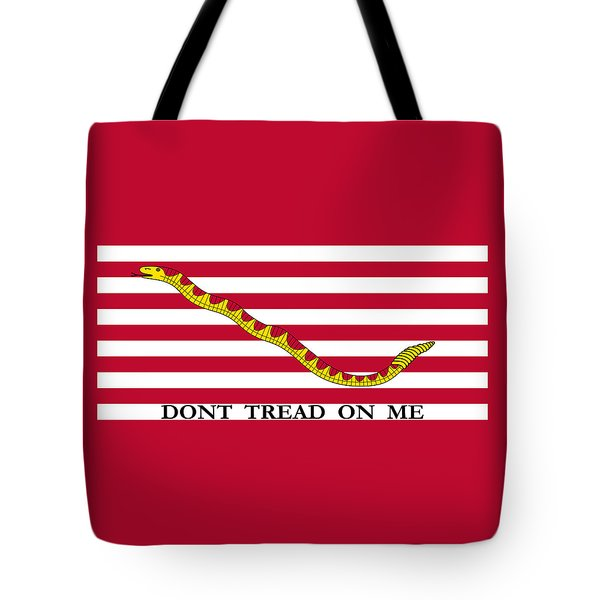 First Navy Jack Tote Bag by War Is Hell Store